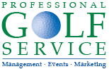 Professional Golf Service Logo